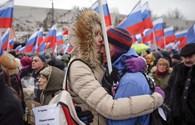 Những hình ảnh về cuộc biểu tình tưởng nhớ lãnh đạo đối lập Nemtsov