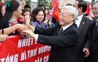 Những hình ảnh đầu tiên của Tổng Bí thư Nguyễn Phú Trọng trong chuyến thăm Hoa Kỳ
