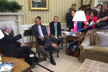Tổng thống Obama thảo luận với Tổng Bí thư Nguyễn Phú Trọng về Biển Đông, nhận lời mời thăm Việt Nam