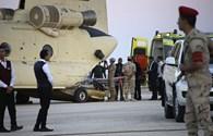 Thi thể nạn nhân máy bay Nga được đưa đi nhận dạng