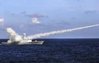 Tàu chiến, máy bay Trung Quốc bắn tên lửa trong tình huống chiến tranh thật ở Hoàng Sa