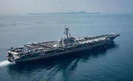 Tàu sân bay Mỹ tiến gần bán đảo Triều Tiên, Trung Quốc kêu gọi kiềm chế