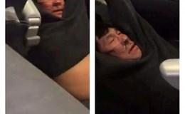 Giữ bí mật số tiền bồi thường hành khách gốc Việt bị kéo khỏi máy bay