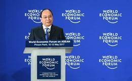 Việt Nam nhận chuông chủ nhà WEF ASEAN 2018
