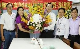 Lãnh đạo TP.HCM thăm, chúc mừng Báo Lao Động