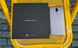 Trên tay Huawei Mate 9 cấu hình mạnh mẽ lần đầu xuất hiện tại Việt Nam