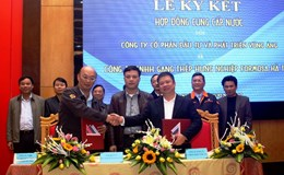 Ký kết hợp đồng cung cấp nước cho Formosa Hà Tĩnh