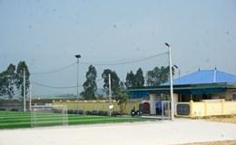 Nghệ An: Hết xử phạt lại đình chỉ, sân vận động không phép vẫn tồn tại