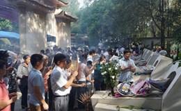 Ngã ba Đồng Lộc nườm nượp người dâng hương trước đại lễ