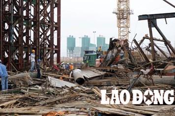 Khởi tố vụ sập giàn giáo ở Formosa làm 13 người chết, 28 người bị thương