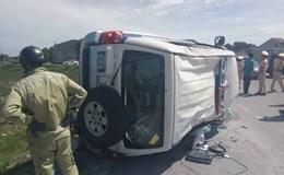 Lái xe bỏ chạy va chạm làm lật xe CSGT ở Hà Tĩnh là Giám đốc công ty vệ sỹ