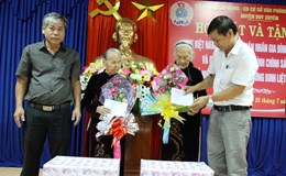 Các CĐ cơ sở thuộc LĐLĐ huyện Duy Xuyên: Phụng dưỡng suốt đời 34 Mẹ Việt Nam anh hùng