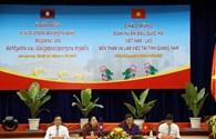 Đoàn nữ đại biểu Quốc hội Việt Nam - Lào làm việc tại Quảng Nam