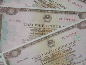 Huy động 6.450 tỉ đồng trái phiếu Chính phủ