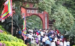 """Ban Tổ chức lễ hội Đền Hùng cam kết """"5 không"""""""