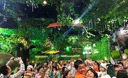 Lạ mắt với Thành phố Khủng long lần đầu xuất hiện tại Hà Nội