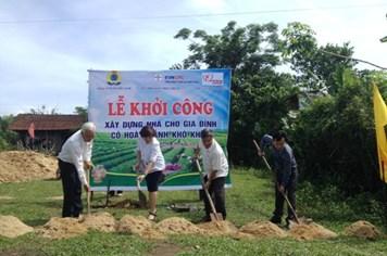 """Quỹ Tấm lòng vàng khởi công 5 """"Mái ấm Công đoàn"""" tại Quảng Nam"""