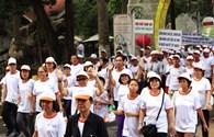 TP.Hồ Chí Minh: 5.000 người tham gia đi bộ vì nạn nhân chất độc màu da cam