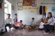 Quỹ Tấm lòng Vàng: Trao hơn 32 triệu đồng hỗ trợ gia đình bà Phạm Thị Cúc