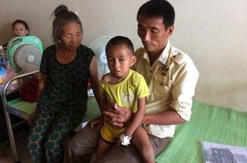 LD1848: Xót xa bé trai 9 tuổi bị suy thận