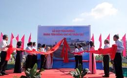 Đường dẫn cao tốc TPHCM – Trung Lương mang tên ông Võ Trần Chí