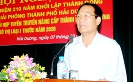 Bí thư Thành ủy Hải Dương bất ngờ gửi đơn xin từ chức trước thềm ĐH Đảng bộ tỉnh