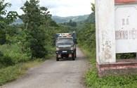 Xã tự đặt ra quy định thu phí xe ôtô tải qua địa bàn
