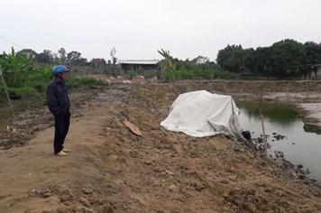 """""""Chốt"""" phương án xử lý ngôi mộ lạ  phát hiện ở Hưng Yên"""