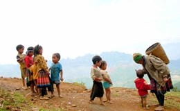 Những đứa trẻ ở Tà Xùa