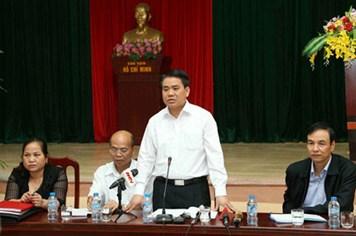 Thanh tra TP.Hà Nội ra Thông báo kết thúc việc thanh tra đất đai tại xã Đồng Tâm