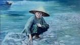 """Vụ sao chép bức tranh """"Biển chết"""": Tác phẩm vi phạm vẫn đoạt giải"""