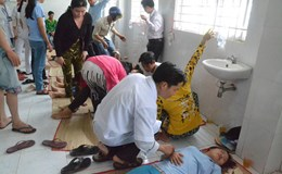 Vụ hàng trăm công nhân tái phát, nhập viện cấp cứu: Công đoàn sát cánh bảo vệ người lao động