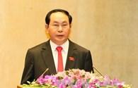 Chủ tịch nước Trần Đại Quang: Kinh nghiệm của đồng chí Trương Tấn Sang và các Chủ tịch nước tiền nhiệm là vốn quý cho tôi