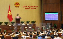 Năm 2018, Quốc hội xem xét thông qua 21 dự án luật
