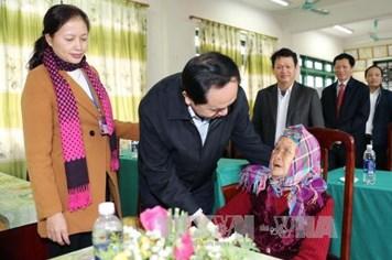 """Chủ tịch Nước Trần Đại Quang: Thấm nhuần đạo lý """"Uống nước nhớ nguồn"""""""