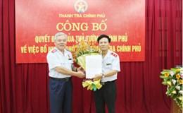 Công bố quyết định bổ nhiệm ông Bùi Ngọc Lam giữ chức vụ Phó Tổng Thanh tra Chính phủ