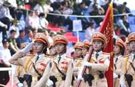 Video clip: Lực lượng an ninh nhân dân oai phong trong lễ diễu binh mừng ngày đại thắng