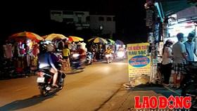 Bát nháo chợ tự phát vùng ven Sài Gòn