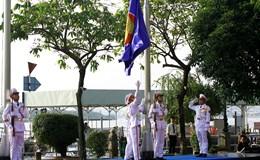 Lễ thượng cờ mừng 50 năm ASEAN tại TPHCM