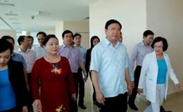 Ông Đinh La Thăng tháo gỡ khó khăn cho Khu Y tế kỹ thuật cao HoaLam-Shangri-La