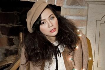 Hot girl Mỹ Ngọc cuốn hút, cá tính đầy hấp lực  với thời trang color block đón Giáng sinh