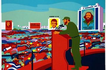 Cuộc đời Fidel Castro qua những bức tranh cổ động nổi tiếng