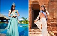 Dàn sao Việt và thí sinh khoe sắc tại Hoa hậu Đại dương