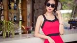Hoa hậu Đỗ Mỹ Linh nổi bật bởi vẻ đẹp trong sáng, gợi cảm