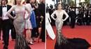 Lý Nhã Kỳ đẹp huyền bí với đầm của NTK Việt trên thảm đỏ LHP Cannes
