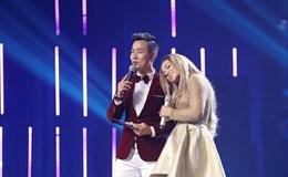 """Thanh Hà """"tình tứ"""" với Nguyên Khang ở hậu trường """"Người hát tình ca"""""""