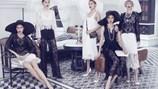 Dàn siêu mẫu Việt gợi cảm với trang phục đen - trắng