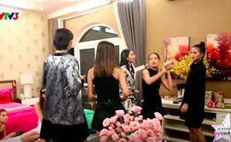 Hoa hậu Mỹ Linh mặc xuyên thấu kém tinh tế; Thí sinh Next Top Model ẩu đả