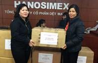 """Chương trình """"Góp Tết với người nghèo Xuân Ất Mùi"""": Hanosimex ủng hộ 460 chiếc áo trị giá 40 triệu đồng"""