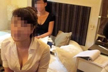 Phá ổ mại dâm tại một khách sạn ở phố Thái Hà
